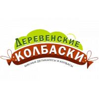 Торговый дом «ФЕРМЕР»: логотип Деревенские колбаски